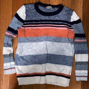 LOFT Outlet Striped Knit Sweater